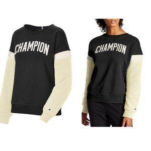 Champion Women's Heritage Sherpa Crew Sweater